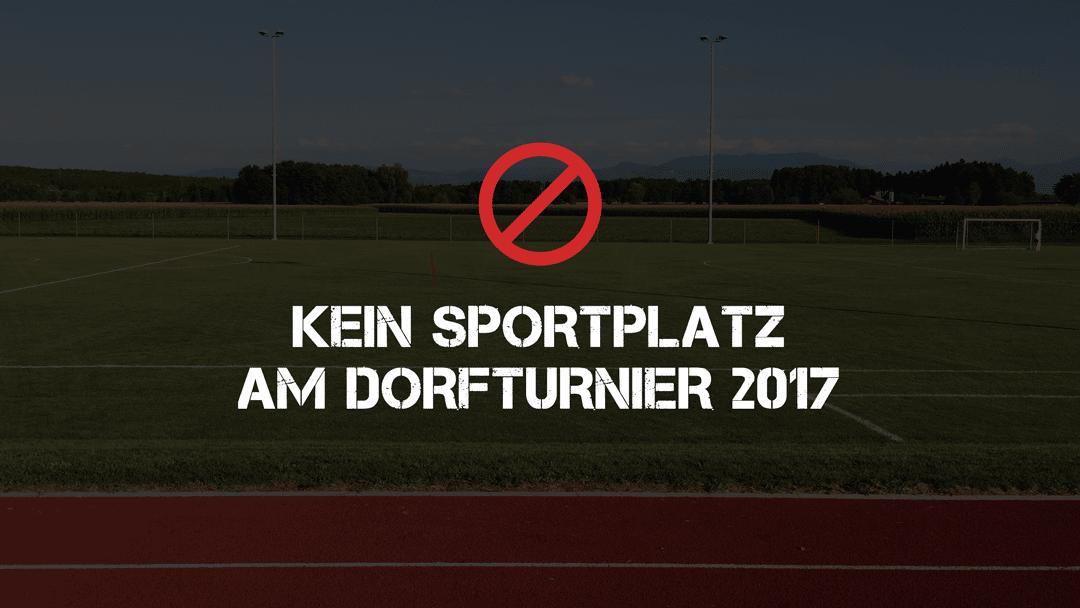 Kein Sportplatz
